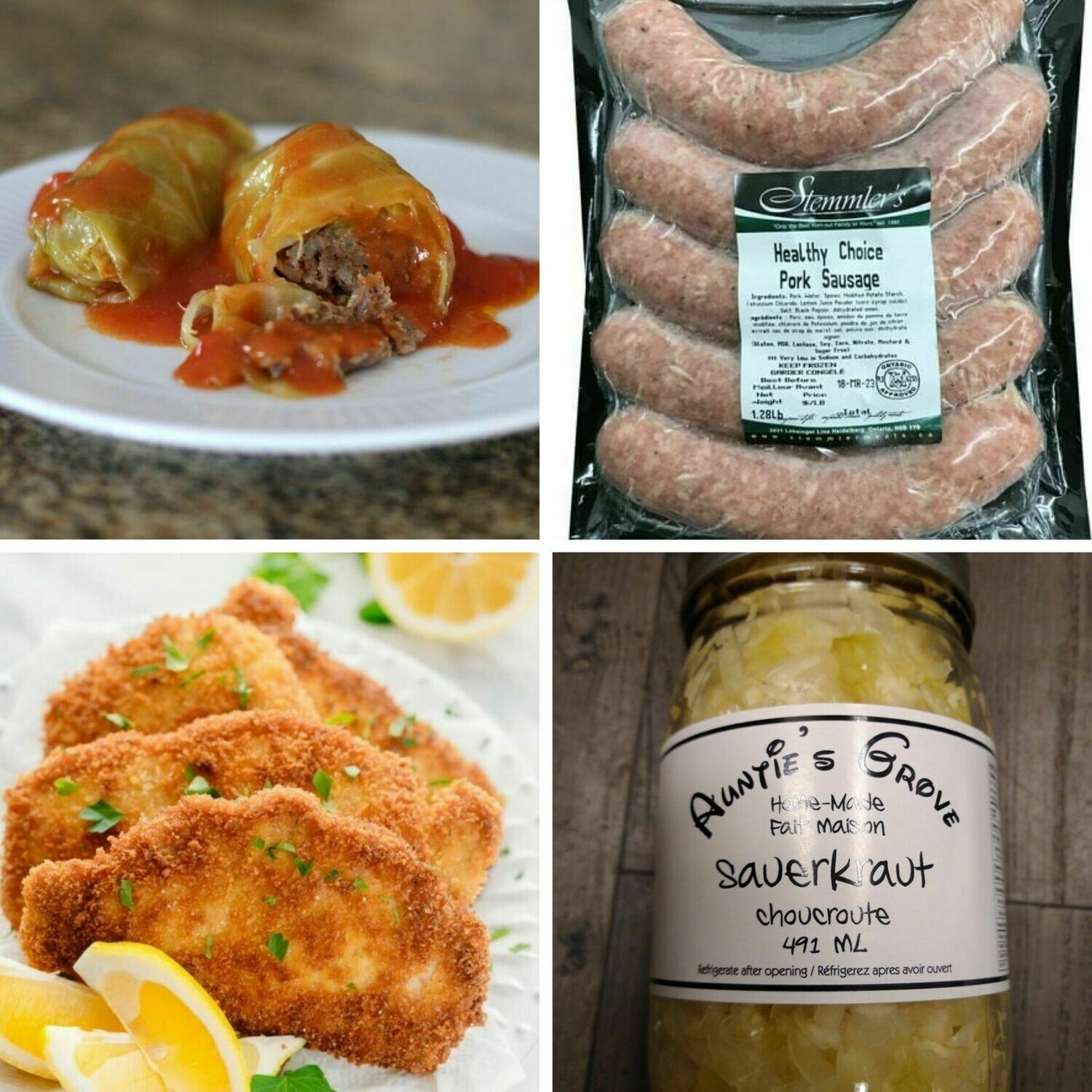 Oktoberfest Meal Kit - Choose your Items