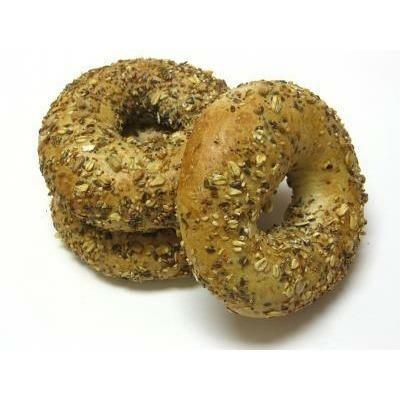 Multigrain Bagels 6 pack - Grainharvest Breadhouse LOCAL
