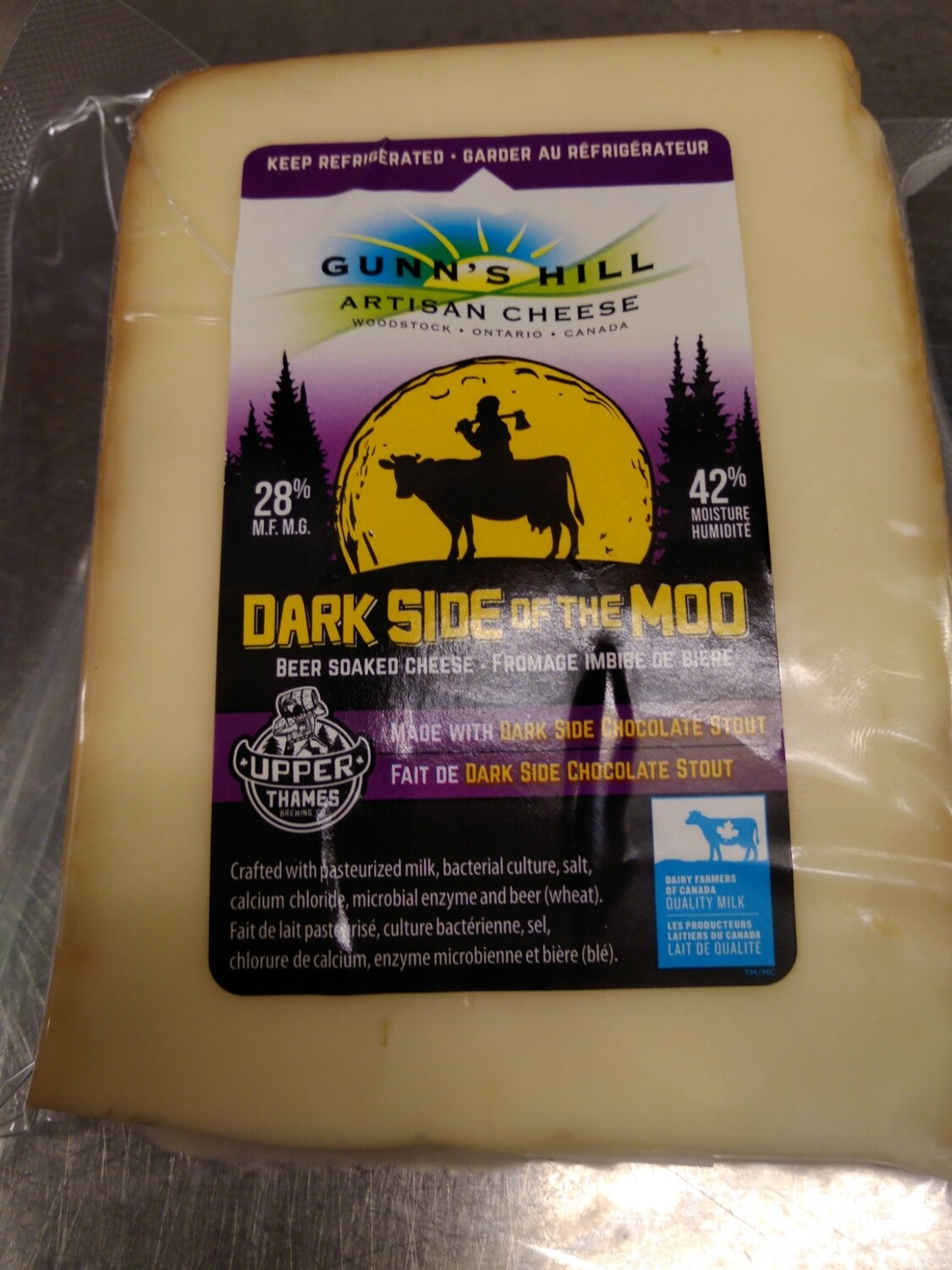 Gunn's Hill Artisan Dark Side of the Moo - 200g LOCAL