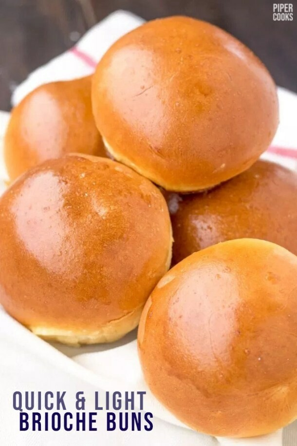Brioche Burger Buns 6 pack - Grainharvest Breadhouse LOCAL