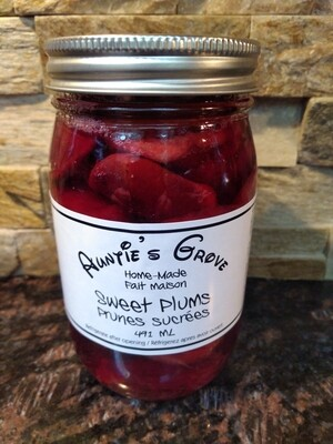 Auntie's Grove Sweet Plums - Local