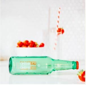 Ontarieau Grapefruit Mint Sparkling Spring Water - 6 * 355ml LOCAL