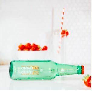 Ontarieau Grapefruit Mint Sparkling Spring Water - 6 * 355ml LOCAL