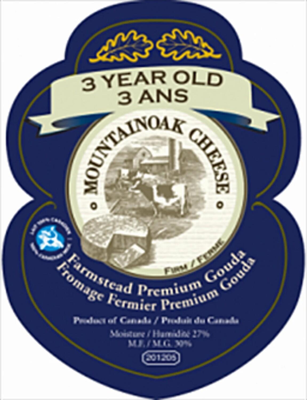 Mountainoak 3 year old Gouda Cheese - 225g LOCAL