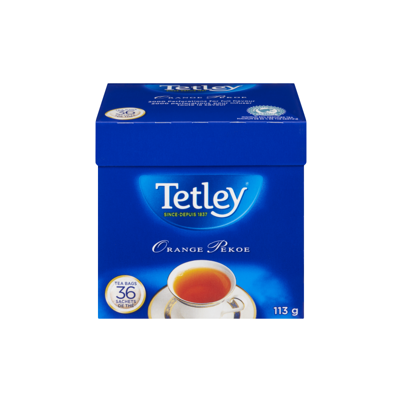 Tetley Orange Pekoe Tea 36 Pack