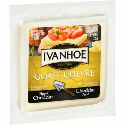 Aged Goat Cheddar - Ivanhoe LOCAL 235g