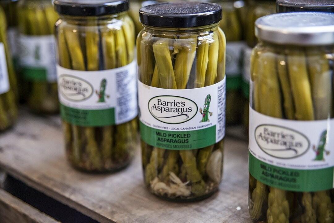 Pickled Asparagus - Barrie's Asparagus Farm LOCAL - 750ml