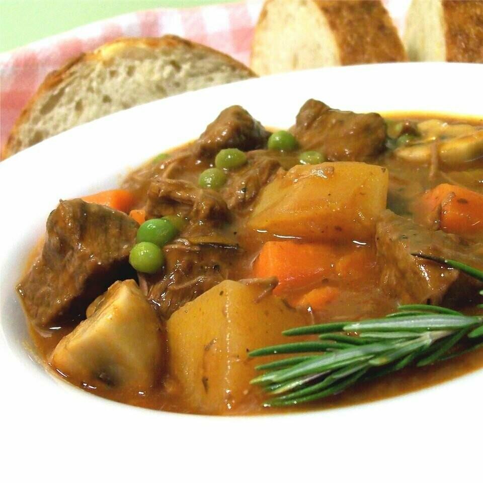 Stemmler's Beef Stew with Veggies 2lb Heat & Serve - LOCAL