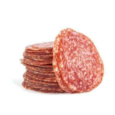 Stemmler's Hot Salami Sliced Gluten Free - LOCAL