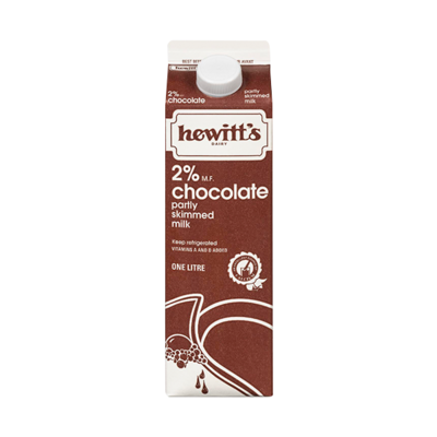 Chocolate Milk 2% - Hewitt's LOCAL 1L
