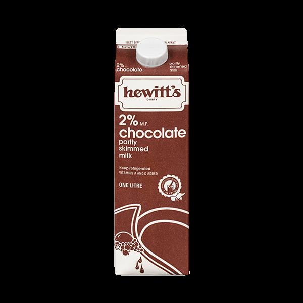 Chocolate Milk 2% - Hewitt's LOCAL 1L