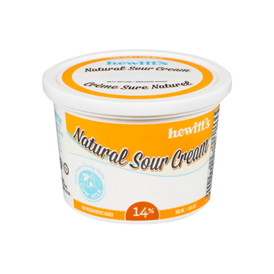 Sour Cream 14% - Hewitt's LOCAL 500g LOCAL