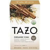 Tazo Organic Chai Tea 24 Pack