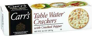 Carr's Cracked Pepper Crackers - 300g