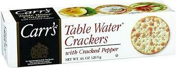 Carr's Cracked Pepper Crackers - 300g