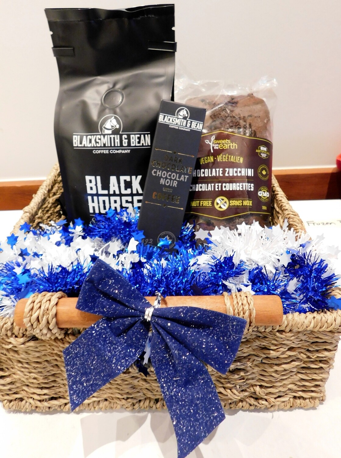 Coffee Lover's Gift Basket LOCAL