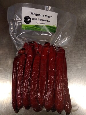 All Beef Hot Pepperettes - LOCAL Magnolia Meat Ayr 12 Pack