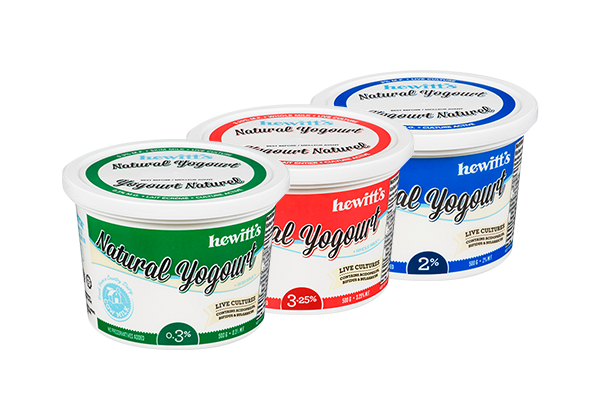 All Natural 2% Yogurt Plain - Hewitt's LOCAL 750g