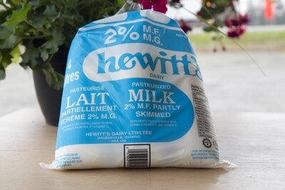 All Natural 2% Milk - Hewitt's LOCAL 4L