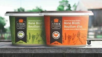 Chicken Bone Broth Free Range - LOCAL 500ml