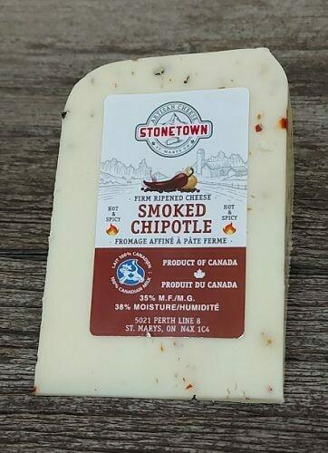 Smoked Chipotle - Stonetown Artisan Cheese LOCAL