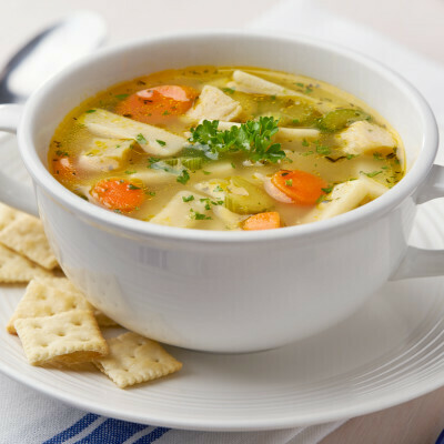Classic Chicken Noodle Soup Grocery Garden Originals- 1L Serves 3-4 LOCAL