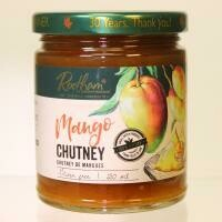 Mango Rhubarb Chutney LOCAL Barrie's Asparagus Farm