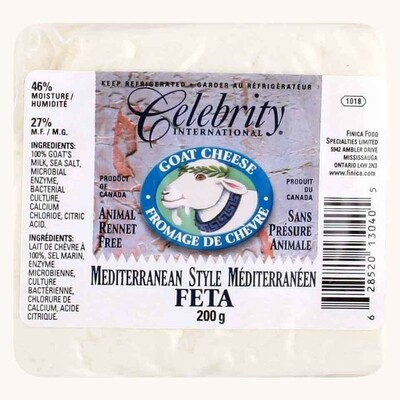 Goat Cheese Feta Celebrity - 200g