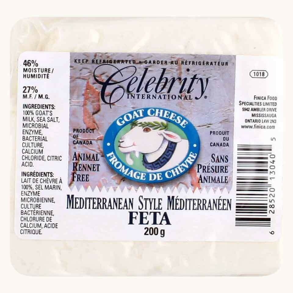 Goat Cheese Feta Celebrity - 200g