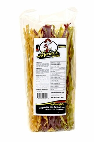 Maria's Vegetable Mix Fettuccine 454g - LOCAL