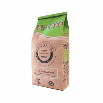 St Jacobs Blend Medium Coffee Beans - Eco Cafe St. Jacobs LOCAL - 12oz