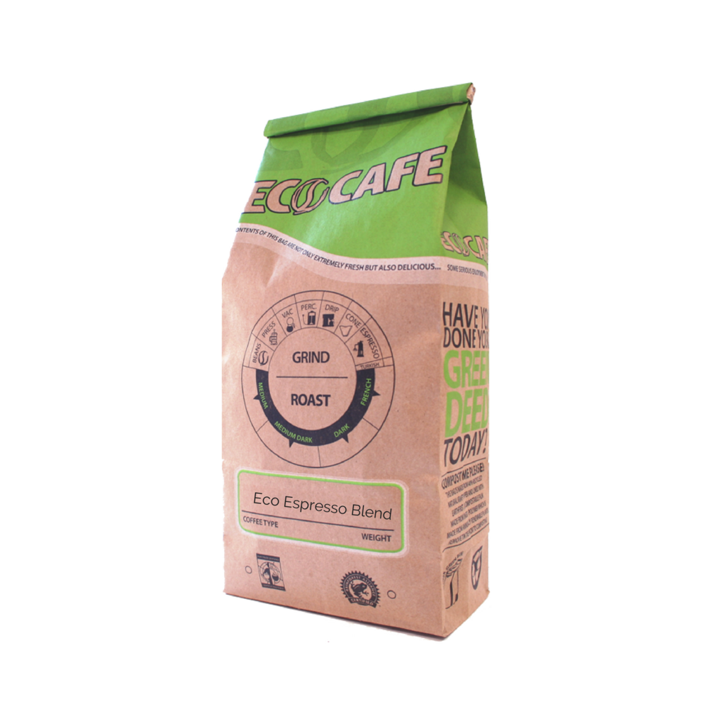 Eco Espresso Blend Coffee - Eco Cafe St. Jacobs LOCAL - 12oz