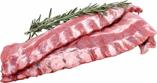Pork Ribs 1 Full Rack Raw