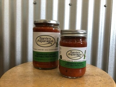 Asparagus Garden Vegetable Pasta Sauce Gluten Free - 750 ml LOCAL Barrie's Asparagus Farm