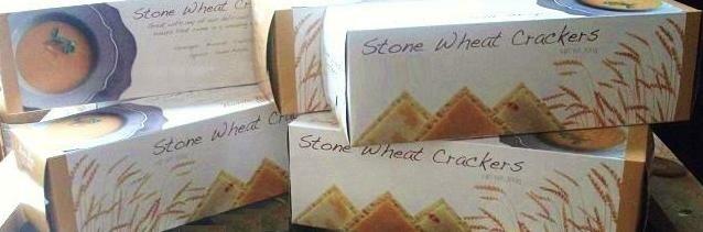 Stone Wheat Crackers - Barrie's Asparagus Farm LOCAL