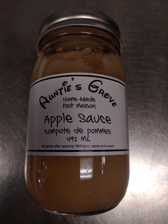 Auntie's Groves Apple Sauce 500ml - Local