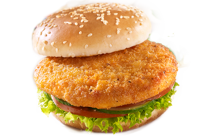 Stemmler's Breaded Chicken Burgers - 4oz x 4 pack LOCAL