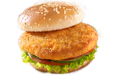 Stemmler's Breaded Chicken Burgers - 4oz x 4 pack LOCAL