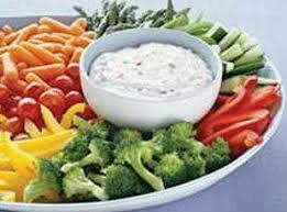 Veggie & Dip Tray