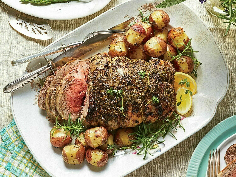 Stemmler's Boneless Lamb Leg Roast 2lb