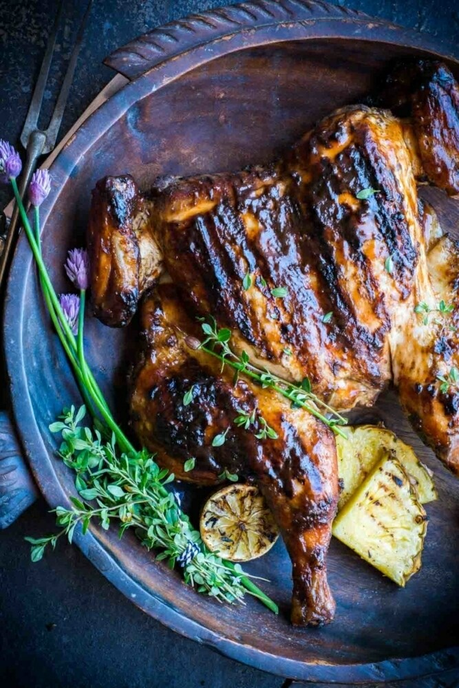 Jerk Chicken Whole Butterflied - LOCAL