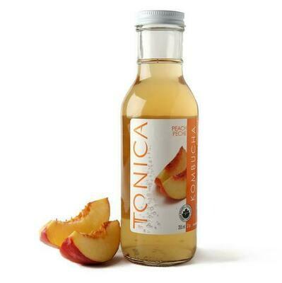 Tonica Kombucha Peach 1L - Toronto Ontario