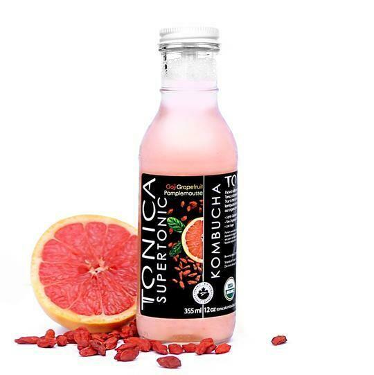 Tonica Kombucha Goji Grapefruit 1L - Toronto Ontario