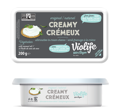 Original Creamy Vegan Cream Cheese Violife- 200g