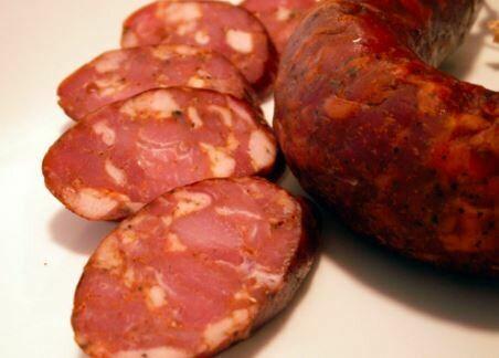 Lancaster Smokehouse Smoked Andouille Pork Sausage - LOCAL