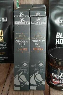 Dark Chocolate with Coffee- Barrie's Asparagus Farm LOCAL - 50g