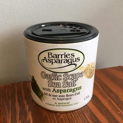 Sea Salt With Garlic & Asparagus- Barrie's Asparagus Farm LOCAL