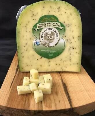 Mountainoak Gouda Cheese - Wild Nettle - 225g LOCAL