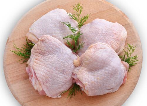 Skin-on Bone-In Chicken Thighs Free Range - LOCAL - 2lb