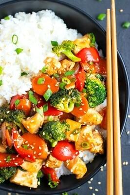 DYO Chicken Teriyaki Stir Fry Kit - LOCAL Grocery Garden Originals